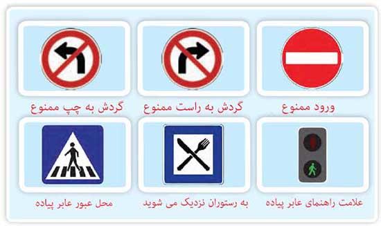 جواب تمرین درس دوم عربی نهم